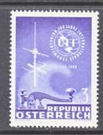 Austria 745   **  ITU - 1961-70 Unused Stamps