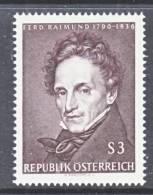 Austria 748   **  ART  PAINTER - 1961-70 Unused Stamps