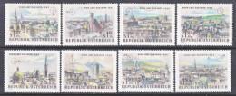 Austria  B 306-13   *  WIPA  STAMP EXPO. - 1961-70 Unused Stamps