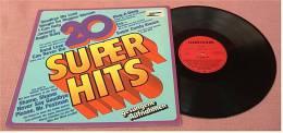 LP  20 Super Hits : Shame, Shame, Shame Usw.  ,  Von Clearsound  - Nr. 518 -  Von Ca. 1983 - Disco, Pop