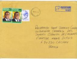 VEND TIMBRES DU TOGO N° A2849 + 3257 X 2 , SUR LETTRE, COTE:? , !!!! - Togo (1960-...)