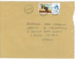 VEND TIMBRES DU TOGO N° 2981 + 2849 , SUR LETTRE, COTE : ?,?, !!!! - Togo (1960-...)