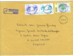 VEND TIMBRES DU TOGO N° A2849 X 2 + 2852 EN PAIRE + 3161 , SUR LETTRE , COTE : ?,?,?,?, !!!! - Togo (1960-...)