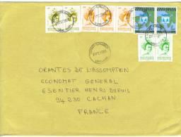 VEND TIMBRES DU TOGO N°A2979 EN PAIRE+2843X2+2844 EN PAIRE+2848X3 DONT 1 PAIRE,SUR LETTRE ,COTE :?,?,?,?,?,?,?,?,?, !!!! - Togo (1960-...)