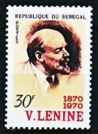 Sénégal 332 Centenaire De La Naissance De Lénine - Lenin