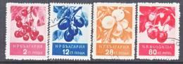 Bulgaria 936-9    (o)  FRUITS - 1945-59 People's Republic