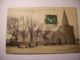 LARMOR Chapelle Notre Dame Porche Et La Tour CARTE TRES ANIMEES - Larmor-Plage