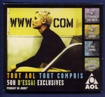 AOL 7.0 50H D´essai Exclusives. WWW.com. Présenté En Coffret Carton. - Connection Kits