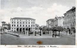 """Bellissima  Cartolina  D´epoca     -  Udine     """"   Casa Del Littorio E Giardino """" A. Mussolini  """" - Udine"""