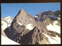 CPM Non écrite Massif De L'Oisans Pic Nord Des Cavales Et La Meije - France