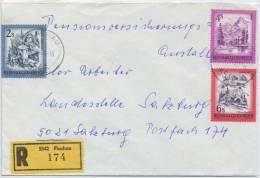 Einschreibe-Brief Reco Flachau-Salzburg MiFr 1980 - 1945-.... 2. Republik