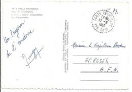 PYRENEES ORIENTALES - Cachet De PORTE PUYMORENS Sur Carte En F.M. - 1921-1960: Periodo Moderno