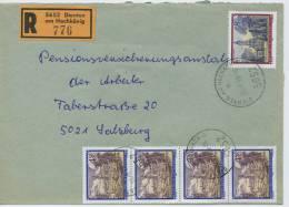 Einschreibe-Brief Reco Dienten Am Hochkönig-Salzburg MiFr 1995 - 1945-.... 2. Republik