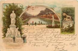 BERLIN    CARTE PRECURSEUR   1899   J MIESLER EDITEUR - Other
