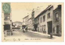 CP GAGNY  RUE MONTFERMEIL - ECRITE EN 1904 - Gagny