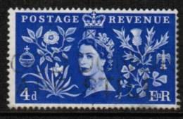 GREAT BRITAIN    Scott #  314  VF USED - 1952-.... (Elizabeth II)