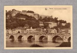 32315    Belgio,    Namur,  Pont    De  Jambes  Et  Citadelle,  NV - Namur