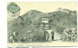 SCENES  ET TYPES, Village Kabyle Et Le Djurdjura - Szenen