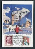 1980 Austria Salzburg Music Festival Card - Music