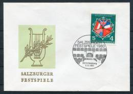 1980 Austria Salzburg Music Festival Cover - Music