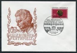 1980 Austria Salzburg Music Festival Covers (3) - Music
