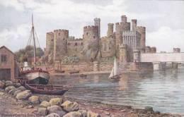 A.R. QUINTON - CONWAY CASTLEFROM RIVER - Caernarvonshire
