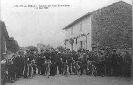 Reproduction : Course Des Cent Kilomètres 16 Mai 1909 - Celles-sur-Belle