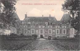 DOUAINS. BRECOURT. Le Château Vu De Face. - Ohne Zuordnung