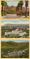 3 CPA - PASSADENA - Huntington Hotel - Typical Foothill Résidential Drive - - Air View Sierra Madre 48460) - Etats-Unis