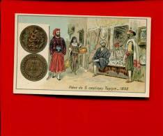 VENTE PRIX FIXE NUMISMATIQUE MONNAIE  PIECE  5 CENTIMES TUNISIE MONDE ARABE  1892 - Chromos