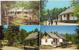 Le Village De SERAPHIN - 4 CPA - Ste Adèle...   (48471) - Alberta