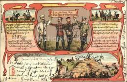 Wx77163 Darmstadt Soldatenkarte Karikatur Kat. Darmstad - Darmstadt