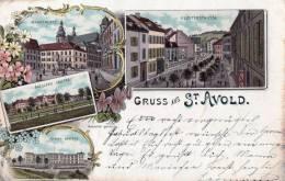 57 GRUSS AUS ST AVOLD - Saint-Avold