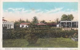 NICARAGUA - MANAGUA / INSTITUTO PEDAGOGICO - LOS JARDINES - Nicaragua