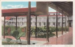 NICARAGUA - MANAGUA / INSTITUTO PEDAGOGICO - VISTA GENERAL INTERIOR - Nicaragua