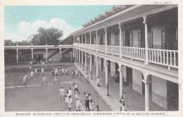 NICARAGUA - MANAGUA / INSTITUTO PEDAGOGICO - CORREDORES Y PATIO DE LA SECCION PRIMARIA - Nicaragua
