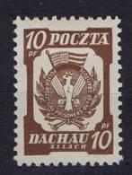 Dachau-Allach Addition For Polish Red Cross, Polish Camp Post, MNH - Ungebraucht