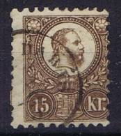Hungary / Ungarn: 1871 Mi 5 A Used, Cat Value 320 Euro - Hongarije