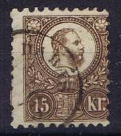 Hungary / Ungarn: 1871 Mi 5 A Used, Cat Value 320 Euro