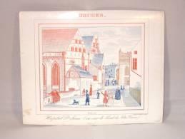 Brugge. Brughes. Carte Porcelaine. Hôpital St. Jean (Vue Sur Le Pont De Notre-Dame). - Brugge
