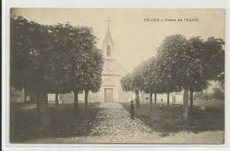 VELIZY (YVELINES - 78) - CPA -  PLACE DE L´ EGLISE - Velizy