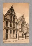 "32340    Belgio,   Ypres,  Facade  De  L"" Hospice  Belle,  NV - Ieper"