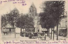 41 ST / SAINT AIGNAN - MARCHE AU BEURRE - Saint Aignan