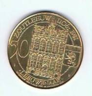 België 50 Leeuwenaar 1981 Gemeentepenning Zoutleeuw Lbonardusparochie - Gemeentepenningen