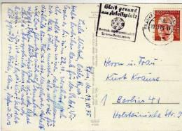 1090 Postal  Frankfurt 1975, Alemania, Dardos, Diana - Otros