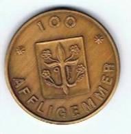 België 100 Afligemmer 1981 Gemeentepenning Teralfener - Gemeentepenningen