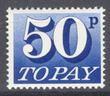 GREAT BRITAIN, ANGLETERRE SG POSTAGE DUE D87. MNH, POSTFRIS, NEUFF. VERY FINE QUALITY. - Strafportzegels