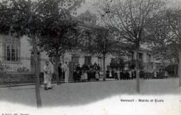 78 YVELINES VERNEUIL MAIRIE ET ECOLE - Verneuil Sur Seine
