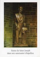 Belgique  (Anvers > Kapellen)  Statue De SAINT JOSEPH  Dans Son Sanctuaire à KAPELLEN (2)(religion) *PRIX FIXE - Kapellen