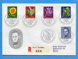 Suisse, Switzerland, Schweiz, FDC, 1961, Pro Juventute Top - FDC